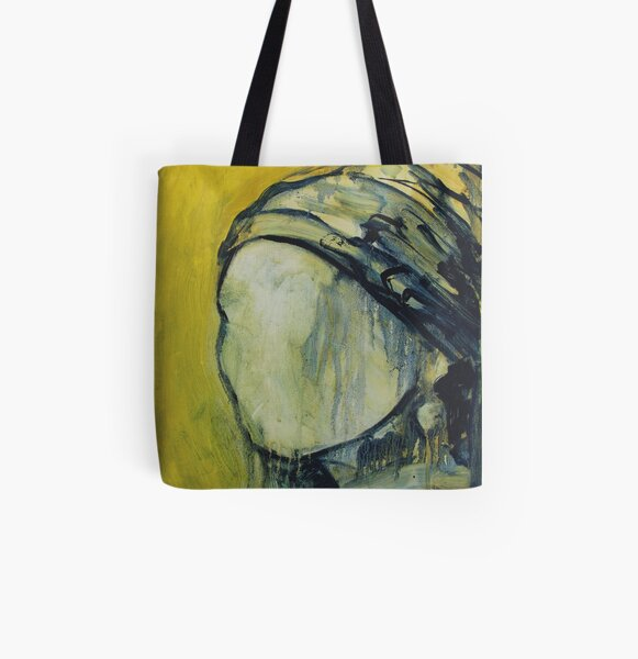 Absence Girl with a pearl earring All Over Print Tote Bag