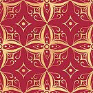 Red and Gold by abbilaura