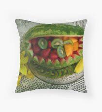 Watermelon Picnic Throw Pillow