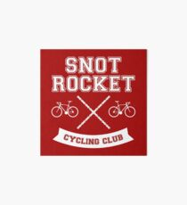 Snot Rocket Cycling Club Art Board