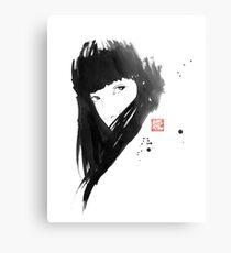 chinese  girl Metal Print