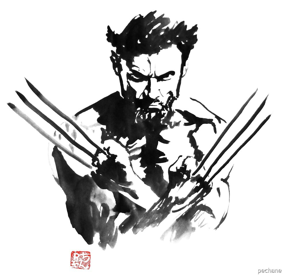wolverine by pechane
