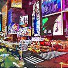 New York Panorama  by Andrea Mazzocchetti
