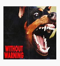 without warning 21 savage x offset x metroboomin Photographic Print