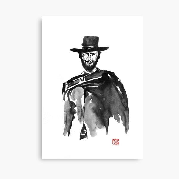 clint 2 Canvas Print