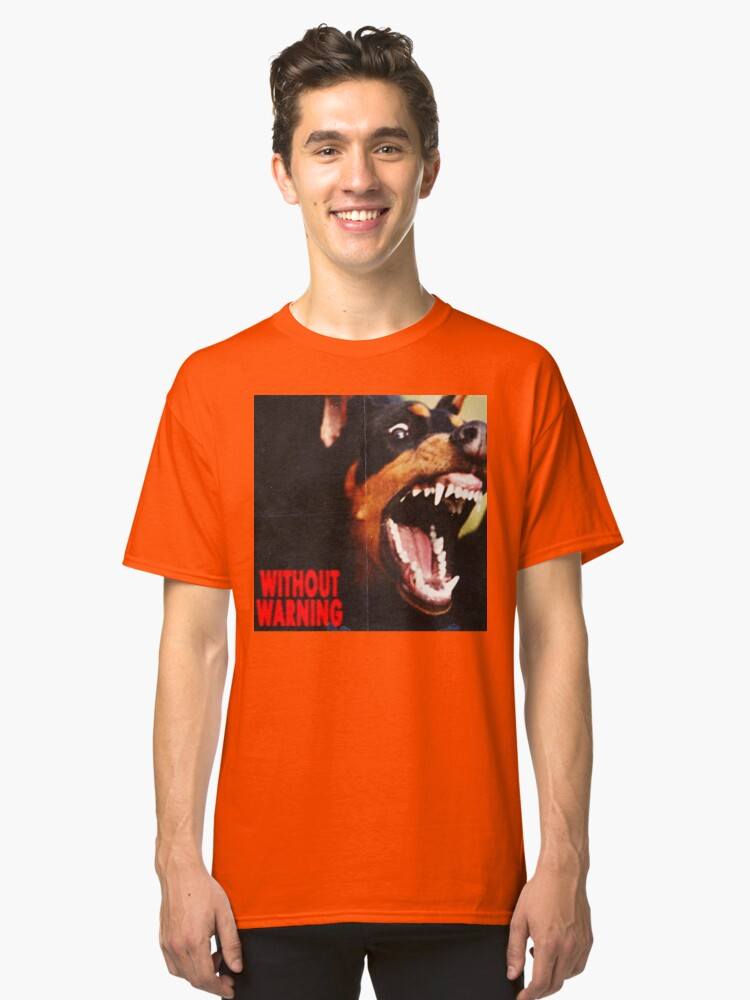 without warning 21 savage x offset x metroboomin Classic T-Shirt Front