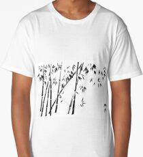 bamboo forest Long T-Shirt