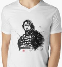 the last samurai Men's V-Neck T-Shirt