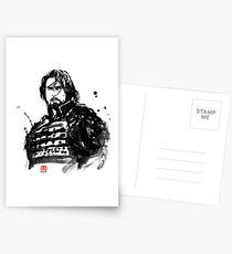 the last samurai Postcards