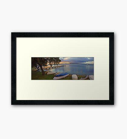 Mosman Bay - Western Australia  Framed Print
