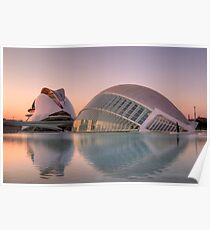 City of Arts and Sciences, Valencia Poster