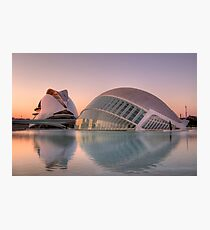 City of Arts and Sciences, Valencia Photographic Print