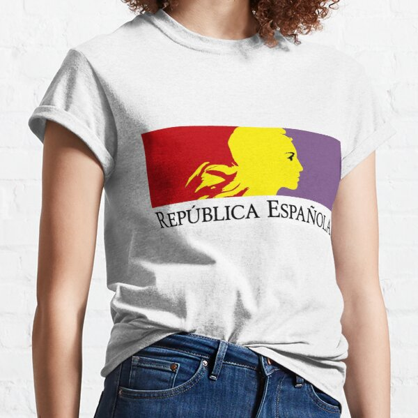 Republican Flag of Spain - Bandera República España Classic T-Shirt