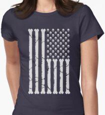 American Skulls & Bones Women's Fitted T-Shirt