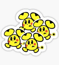 Pikachu Chu Rocket Sticker