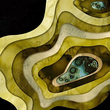 Agate Abstract II by spacefrogdesign