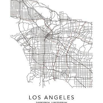 Los Angeles Map by muharko