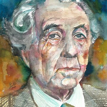 FRANK LLOYD WRIGHT - watercolor portrait.2 by lautir