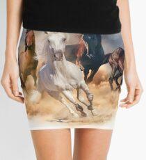 Horses Mini Skirt