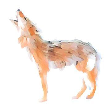 Broken wolf by tacostudio