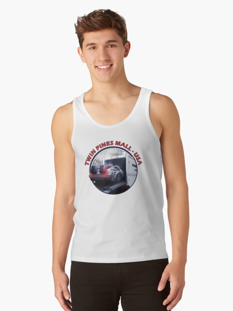 Twin Pines Mall - California - USA Tank Top Front