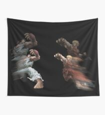 Ready? FIGHT! Wall Tapestry