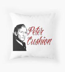 Peter Cushion Throw Pillow