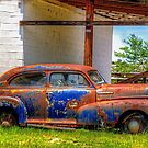 Old Abandoned Car by TJ Baccari Photography