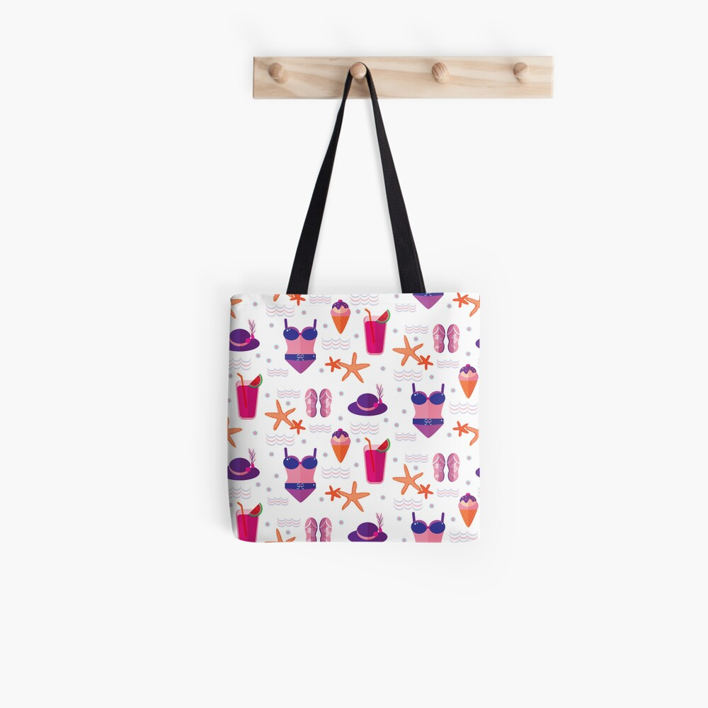 Summer Time at the Beach Tote Bag