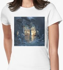 Lost City of Atlantis or Mystery Legend Atlántida Women's Fitted T-Shirt