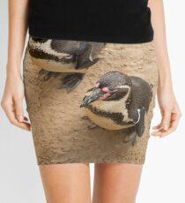 Penguin Couple Mini Skirt