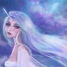 Unicorn girl by ARiAillustr