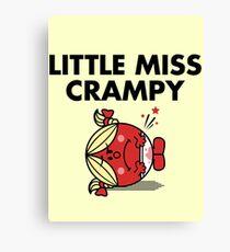 Little Miss Crampy Canvas Print