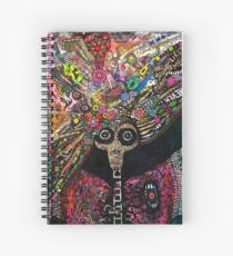 No Mouth Spiral Notebook