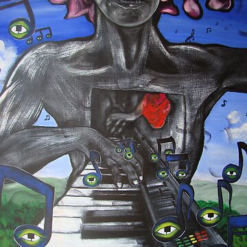 The One Armed Pianist by nique