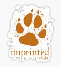 Imprinted Werewolf Twilight T-Shirt Sticker