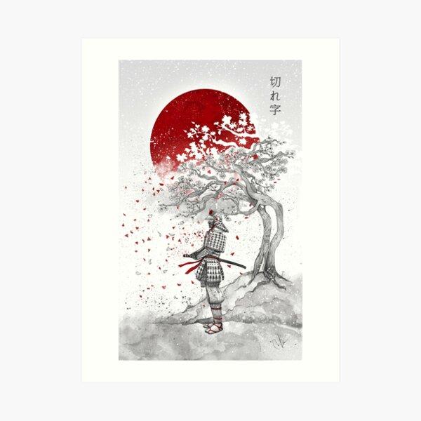Kireji - Cutting word Art Print