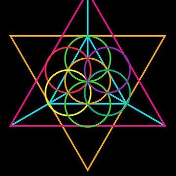 Triangular Color Sunshine by machmigo