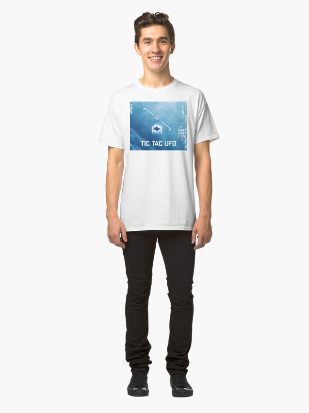 Alternate view of Tic Tac Ufo Classic T-Shirt