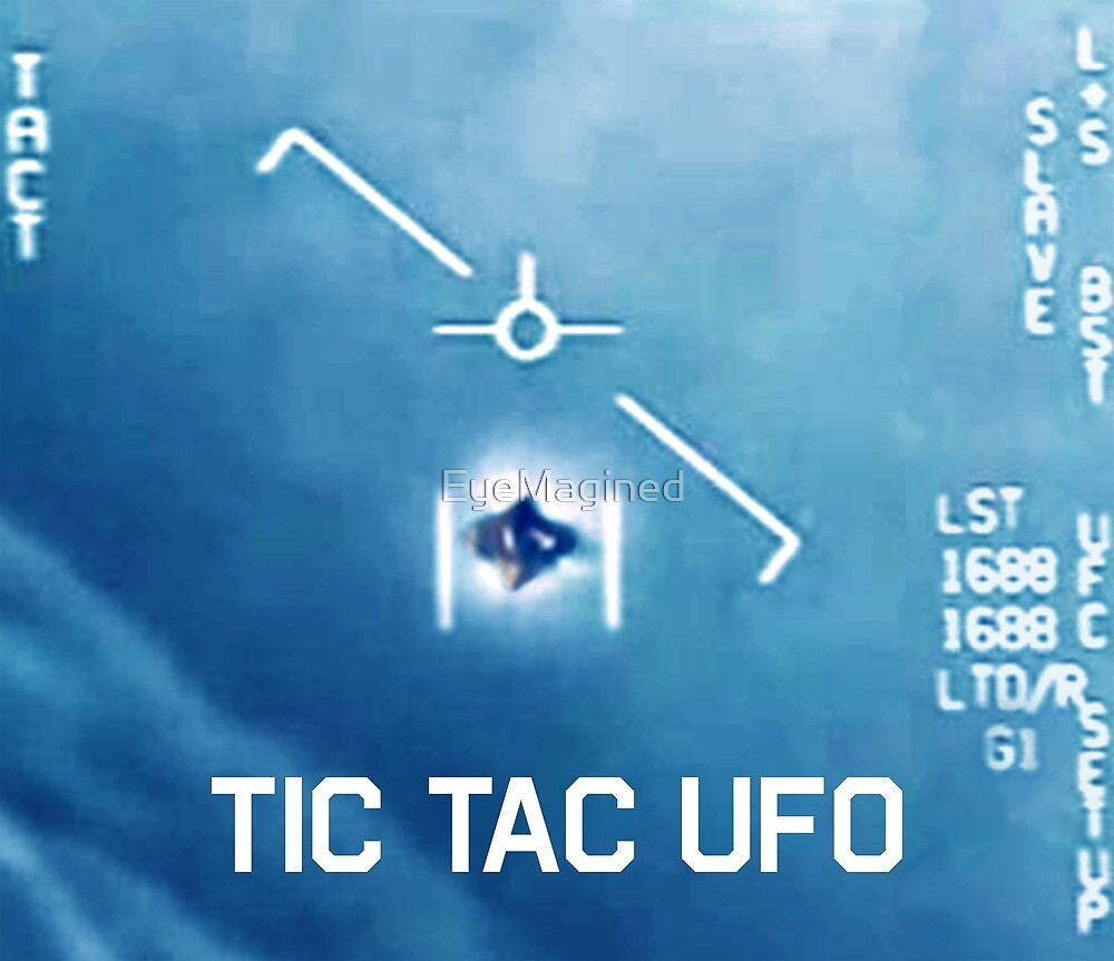 Tic Tac Ufo by EyeMagined