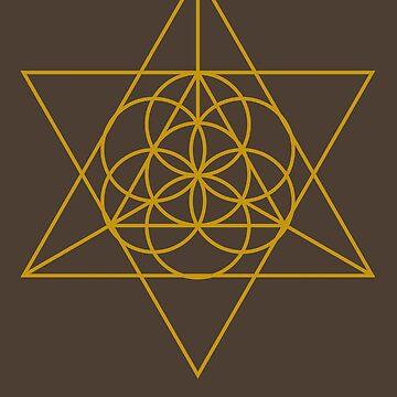 Triangular Golden Sunshine by machmigo