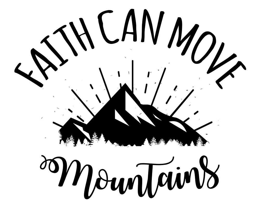 Frasi Belle One Piece.Faith Can Move Mountains By Fede2punto0 Redbubble