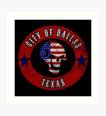 City of Dallas Texas Art Print
