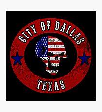 City of Dallas Texas Photographic Print
