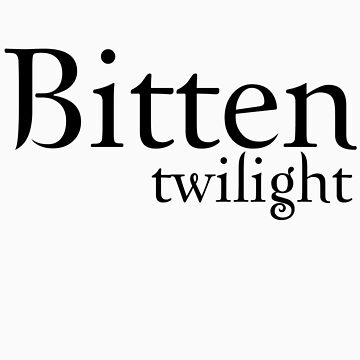 Bitten Twilight T-Shirt by fifilaroach
