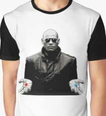 The Matrix Red Pill Or Blue Pill  Graphic T-Shirt