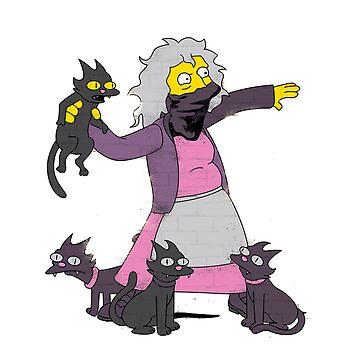 «dame de chat fou» par peppefrpep