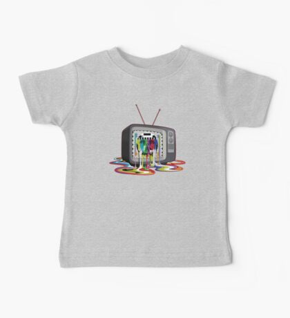 Television Melt of Death Kids Clothes