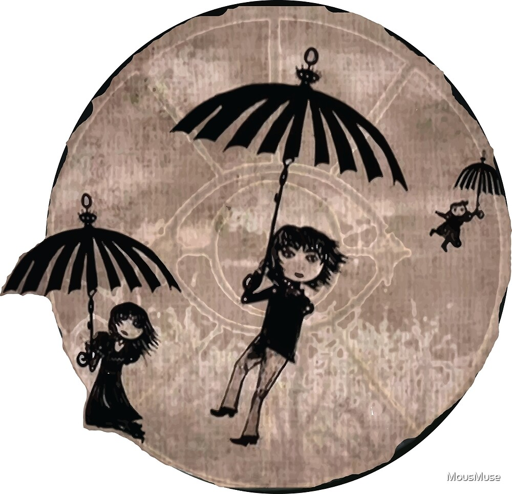Baudelaire Umbrellas by MousMuse