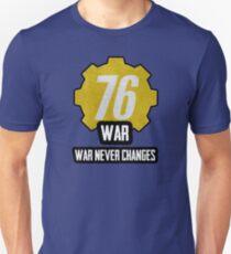 Fallout 76 - War... War Never Changes Unisex T-Shirt